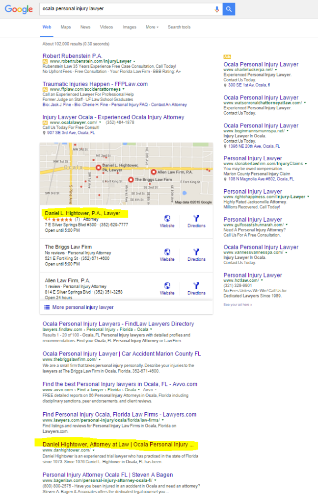 google-results-attorney